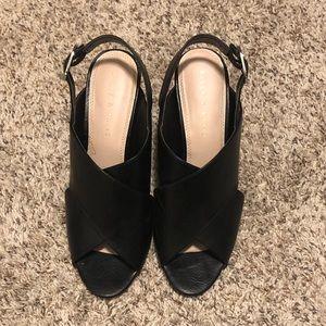 Kelly and Katie black heels size 10